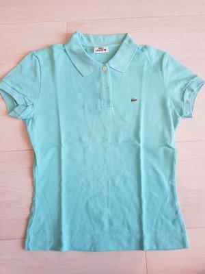 Polo-Shirt in türkis von Lacoste in der Größe 40, neuwertig