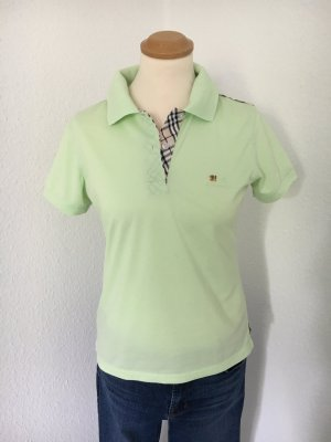 Polo-Shirt in zartem Grün luxury