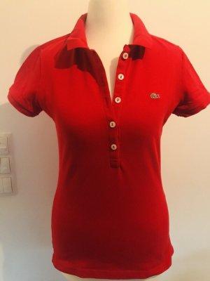Lacoste Camiseta tipo polo rojo Algodón