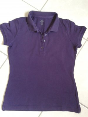 Polo * Shirt * Lila * H&M * S