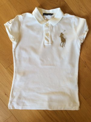 Polo Shirt mit Big Pony in gold - Original