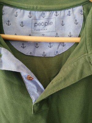 Beymen Camiseta tipo polo verde hierba