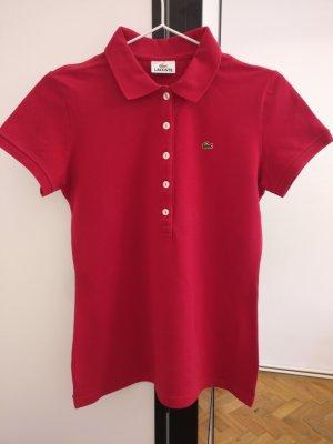 Polo Shirt mit Perlmutt Knöpfen von Lacoste