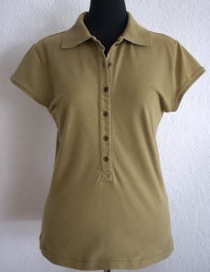 Polo-Shirt oliv mit Stickerei REPLAY