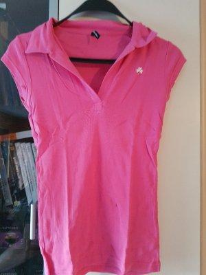 Polo Shirt rosa TOP Zustand