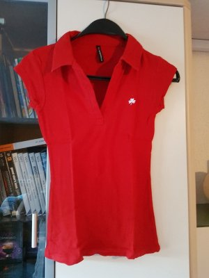 Polo Shirt rot TOP Zustand