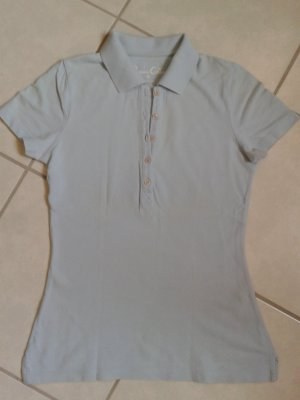 Polo * Shirt * S * hell blau