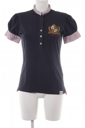 Polo Shirt striped pattern classic style