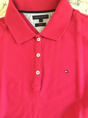 Polo-Shirt Tommy Hilfiger Gr. L(40) pink