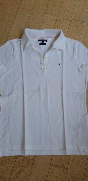 Polo Shirt - Tommy Hilfiger Größe M weiß
