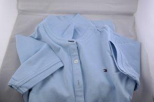 Polo Shirt von Tommy Hilfiger im Classic Style in babyblau