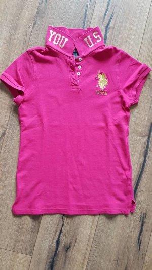 Polo Shirt von U.S. Polo Assn. in pink