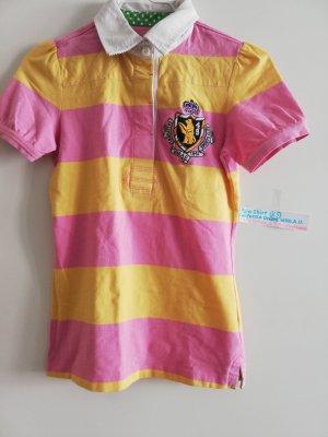 Polo giallo-rosa