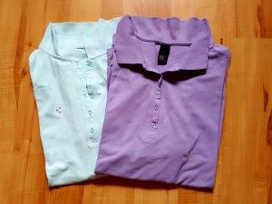BC Polo violet-bleu clair