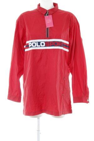 Polo Sport Windjack geborduurde letters atletische stijl