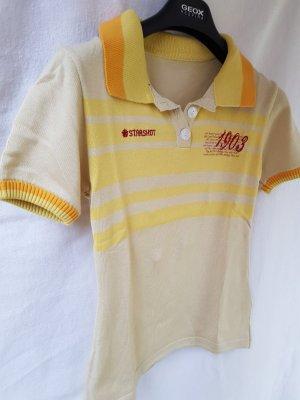 Polo Shirt multicolored mixture fibre