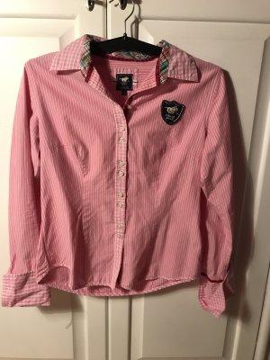 Polo Sylt Bluse | rosa/weiße Bluse