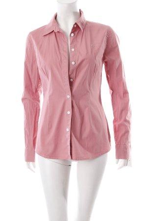 Polo sylt Hemd-Bluse rosa schlichter Stil