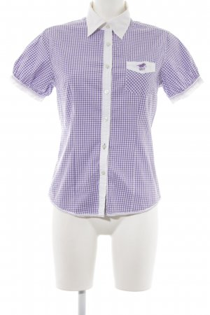 Polo sylt Short Sleeve Shirt check pattern casual look