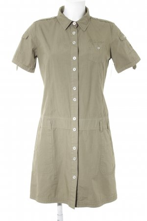 Polo sylt Kurzarmkleid khaki Casual-Look