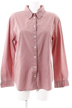 Polo sylt Langarmhemd rosa-rosé Business-Look