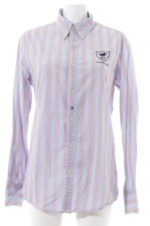 Polo sylt Camicia a maniche lunghe motivo a righe stile casual