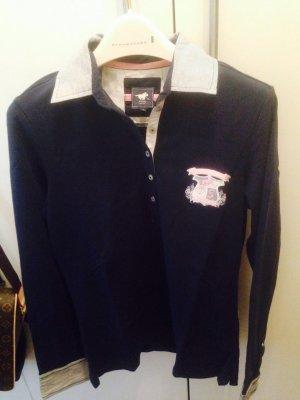 Polo Sylt Longshirt/Poloshirt blau Größe L wie neu