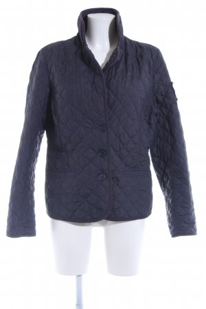 Polo sylt Outdoor Jacket dark blue quilting pattern urban style