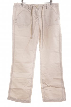 Polo sylt Stoffhose hellbeige Casual-Look