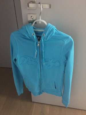 Polo sylt Veste sweat bleu clair