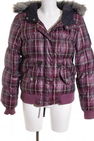 Polo sylt Winterjacke Karomuster Casual-Look