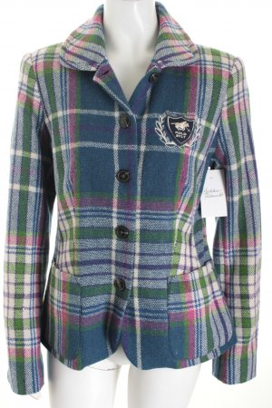Polo sylt Woll-Blazer Karomuster College-Look