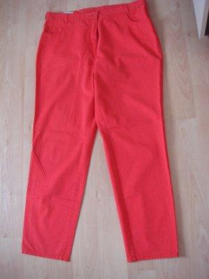 Polo Stoffen broek rood Katoen
