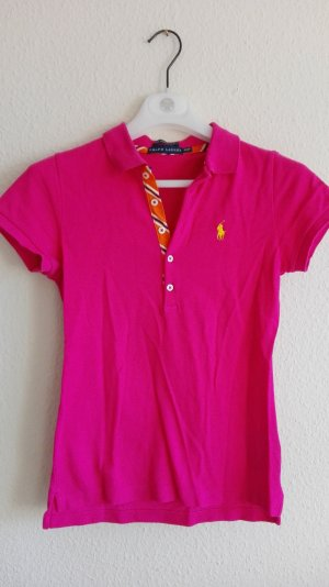 Polo Top Polo Ralph Lauren Polo Shirt pink The skinny Polo Polohemd