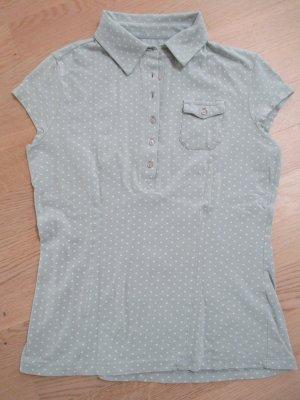Polo shirt wolwit-azuur