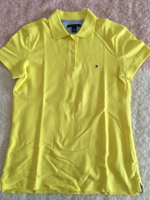 Tommy Hilfiger Polo Shirt neon yellow