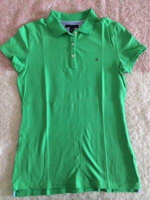 Tommy Hilfiger Polo verde neon