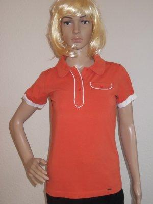 Mexx Polo shirt oranje-wit