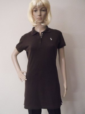 Polo shirt donkerbruin