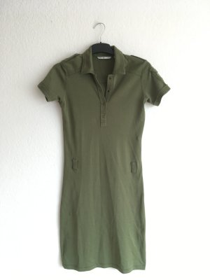 Tommy Hilfiger Polo Dress green cotton