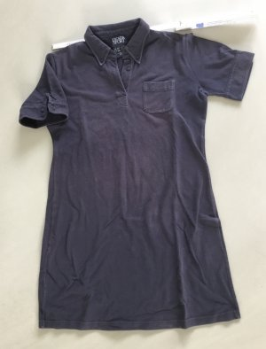 Escada Sport Polo Dress dark blue cotton