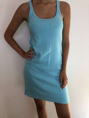 Ralph Lauren Sport Polo Dress light blue cotton