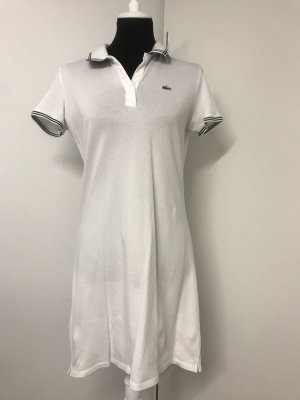 Lacoste Polo Dress white