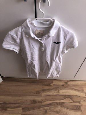 Hollister Camisa de manga corta blanco