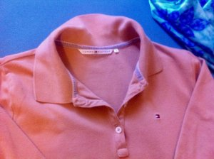 """Poloshirt, 40, beige! neuwertig """"T.Hilfiger"""""""