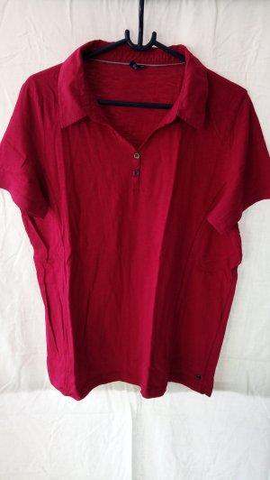 Cecil Polo Shirt magenta cotton