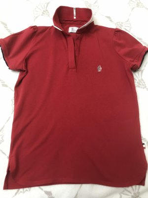Moncler Polo Shirt red