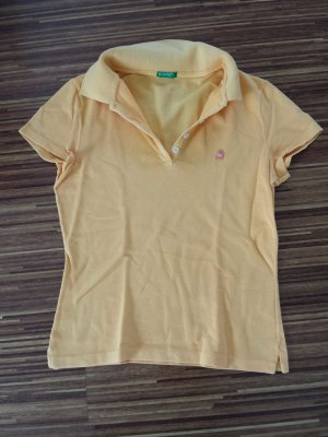 Poloshirt Benetton orange XS