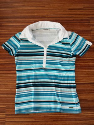 Poloshirt blau gestreift Street One, 36