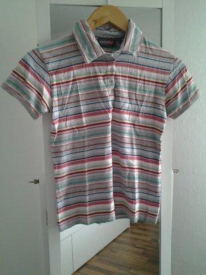 Poloshirt bunte Streifen